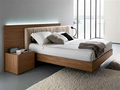 Contemporary Wooden Bed Frames Modern Wood Bed Frames Home Decoration Ideas Pinterest Wood Beds Wood Interiors And Bed