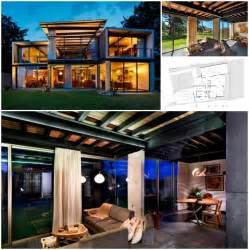 Dwellings Interior Design 2 Story 3 Bedroom Shipping Container Home