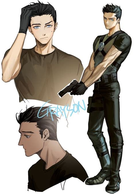nightwing hairstyle 76 best images about nightwing references on pinterest
