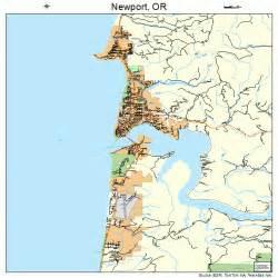 map of newport oregon newport oregon map 4152450