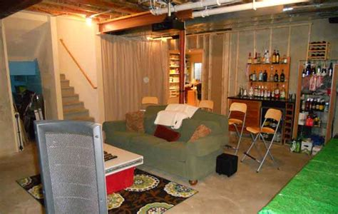18 decorating ideas for unfinished basement design and