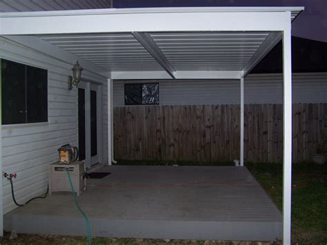 lean to awning simple lean to attached awning north bexar county