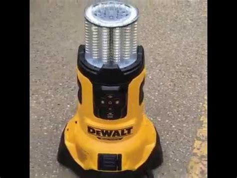 dewalt 20v led light dewalt dcl070 20v max bluetooth led large area light