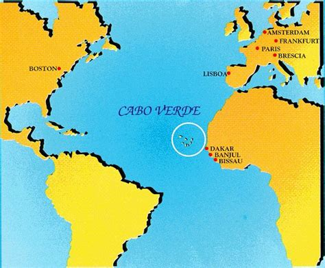 cape verde islands map looking for panists to play at cabo verde s carnival