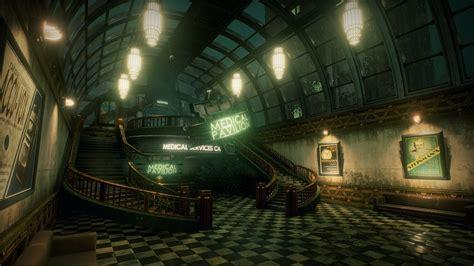 Art Deco Room bioshock medical pavilion unreal engine 4 youtube