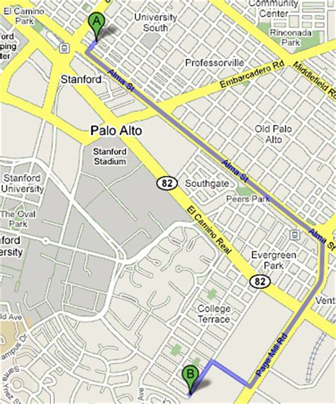 where is palo alto california on a map want to be the next rent its downtown palo