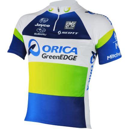 wiggle santini orica greenedge sleeve jersey 2013 team jerseys