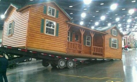 Log Cabins Delivered by Amish Cabins This Log Cabin Kit Can Be Yours For 16 350