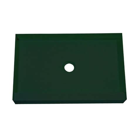 shop mapei green polystyrene shower base common 60 in w x 32 in l actual 60 in w x 32 in l