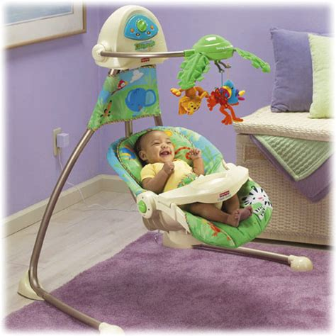 fisher price cradle n swing rainforest fisher price rainforest open top cradle swing baby life