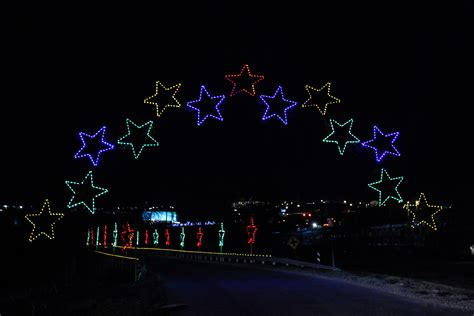 outdoor christmas light displays commercial christmas light displays help fundraise and