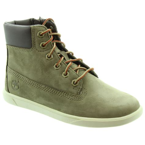 timberland 6776r 6 inch cup boots in olive in olive