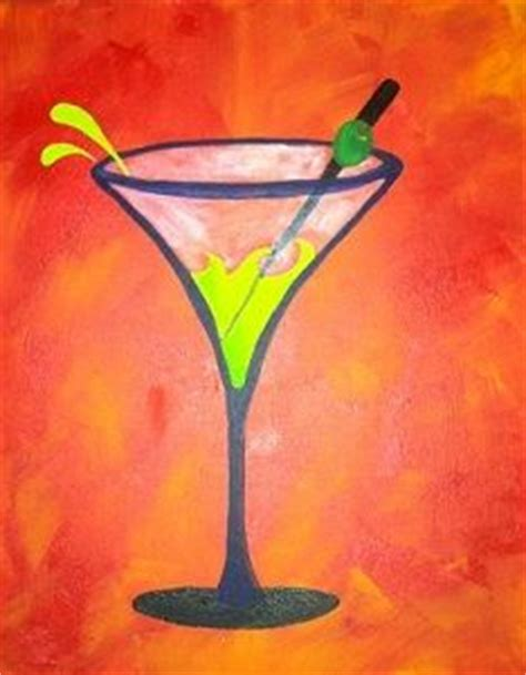 martini glass acrylic painting 1000 images about martini on