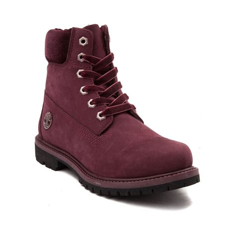 womans timberland boots womens timberland 6 premium collar boot 538417