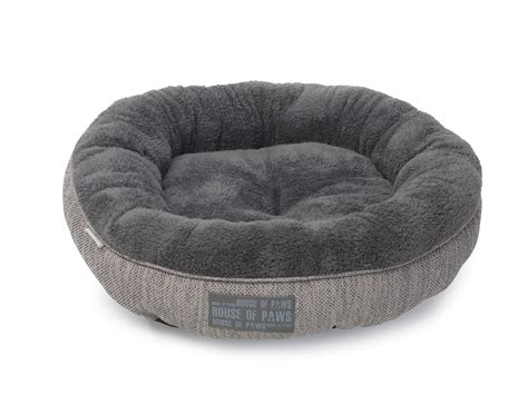 cats beds grey hessian donut cat bed cat beds cat