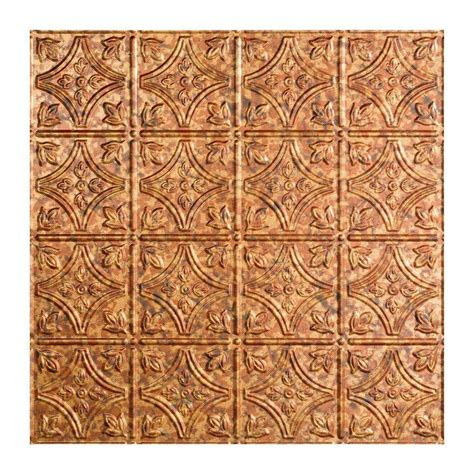 Home Depot Ceiling L by Fasade Traditional 1 2 Ft X 2 Ft Lay In Ceiling Tile