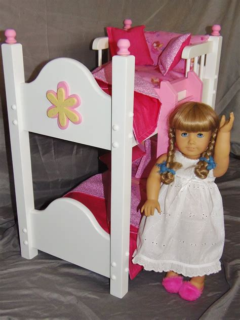 bunk bed for 18 inch doll doll bunk bed fits american doll and 18 inch dolls with