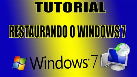 tutorial nmap para windows 7 tutorial como restaurar o windows 7 para remover v 237 rus sem