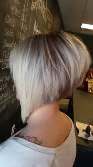 bob haircuts cut into the neck asymmetrical haircut short razored cut angled bob hair