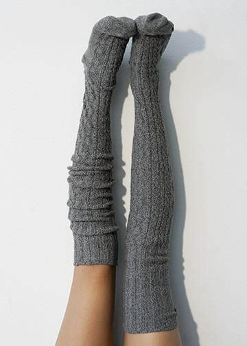 thigh high cable knit socks charcoal marled cable knit thigh high socks peonyandmoss