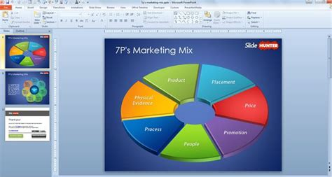Free 7p Marketing Mix Template For Powerpoint Marketing Powerpoint Templates Free