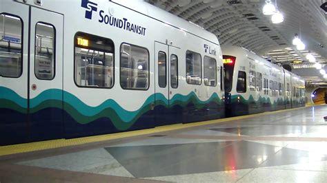 Sound Transit Link Light Rail by Sound Transit Link Light Rail Test At Pioneer Square