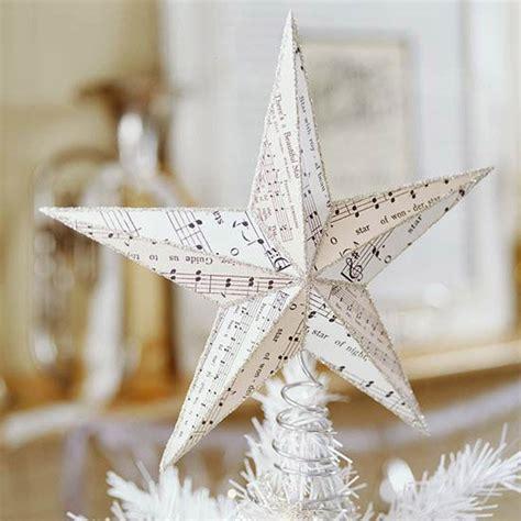 diy xmas tree top star 15 diy tree topper ideas for this season