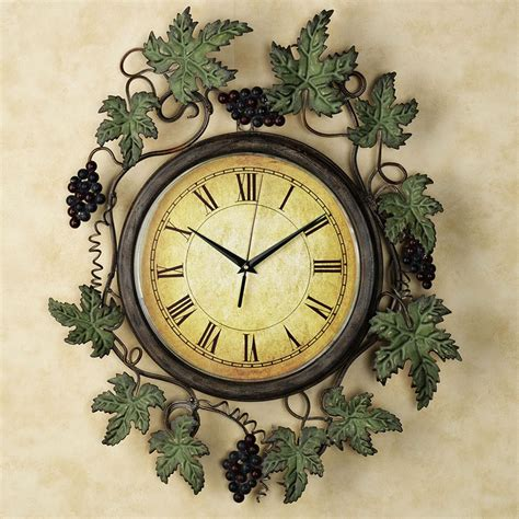decorative wall clock to beautify simple home interior 4