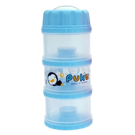 Puku Formula Milk Powder Container Best Seller puku 3 layers independet milk powder dispenser formula