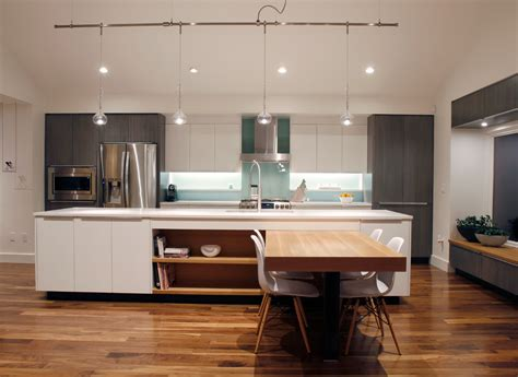 track lighting in kitchens modern track lighting kitchen contemporary with glass