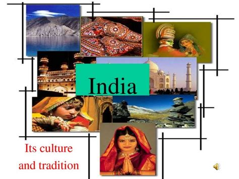 Cultures Of India Ppt On Indian Culture