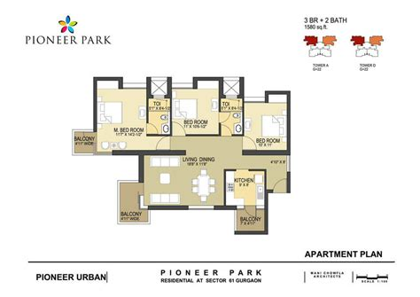 pioneer park gurgaon floor plan pioneer park sector 61 gurgaon golf course extension road