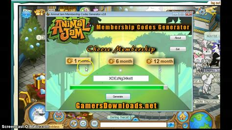 Where Can You Get Animal Jam Gift Cards - animal jam free membership gift card codes lamoureph blog