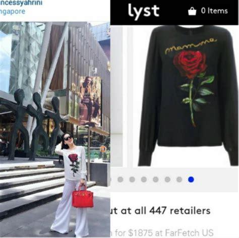 Harga Celana Dolce And Gabbana harga baju tipis syahrini ini sama dengan motor yamaha