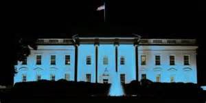 white lights on house light white house blue autism therapist