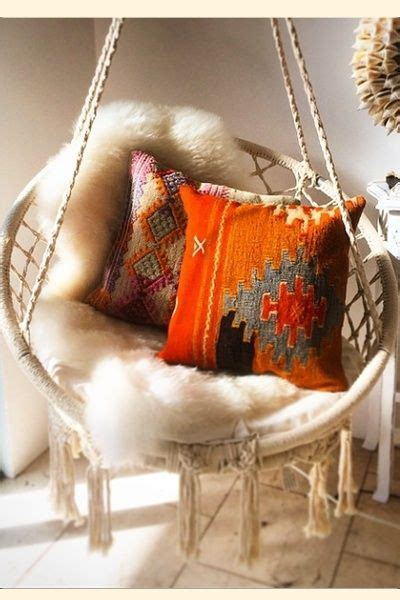 Relax in this gorgeous macrame swing chair we carry different style hammocks to give your home