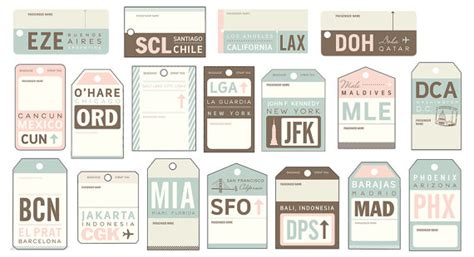 airline luggage tag template three pixie april 2013