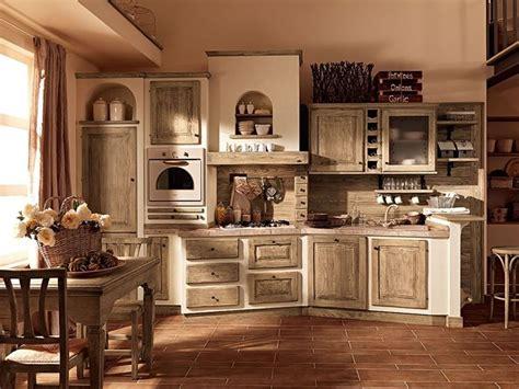 immagini arredamento country cucina in muratura country cucine country