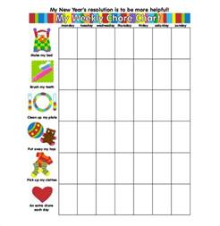 free printable chore chart templates for weekly chore chart template 31 free word excel pdf