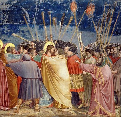 giotto judas kiss painting la trinidad de masaccio una obra del quattrocento