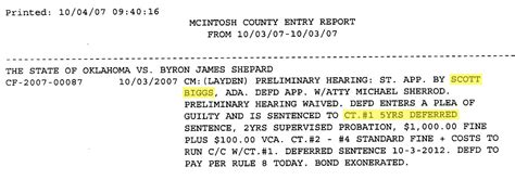 Mcintosh County Court Records State Rep Pushing For Harsher Laws Gave 2007 Plea Deal To Alleged Cop Killer