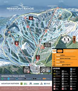 mission trail map trail map mission ridge ski board resort