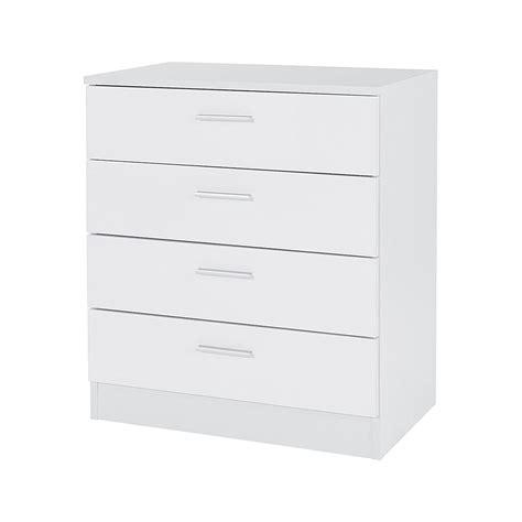 White Dresser And Chest Set Bedroom Furniture 3 Set White Gloss Bedside Drawer Chest Table Wardrobe Ebay
