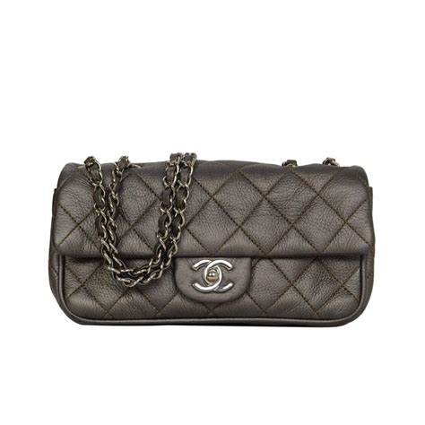 Fashion Mini Rectangle Snakeskin 152 chanel pewter quilted rectangle flap bag shw for sale at