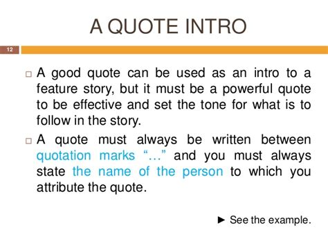 Essay Quotes In Introduction