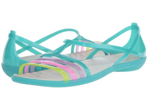 Crocs Isabela Wedges 4 crocs sandal island green zappos free shipping both ways
