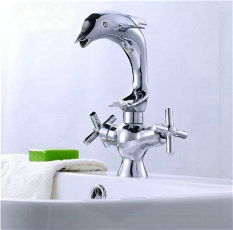 Dolphin Faucets Bathroom by Bathroom Sink Basin Mixer Tap Chromed Polished Brass