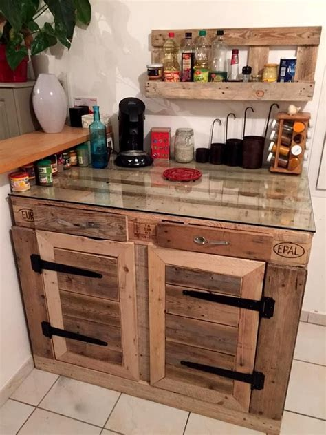best 25 pallet kitchen cabinets ideas on rustic cabinet doors upcycled kitchen