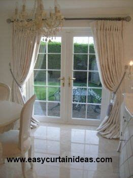 how to hang curtains on french doors best 25 french door curtains ideas on pinterest