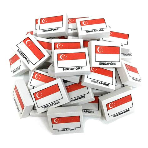 tattoo paper singapore singapore flag erasers country eraser mtrade wholesale